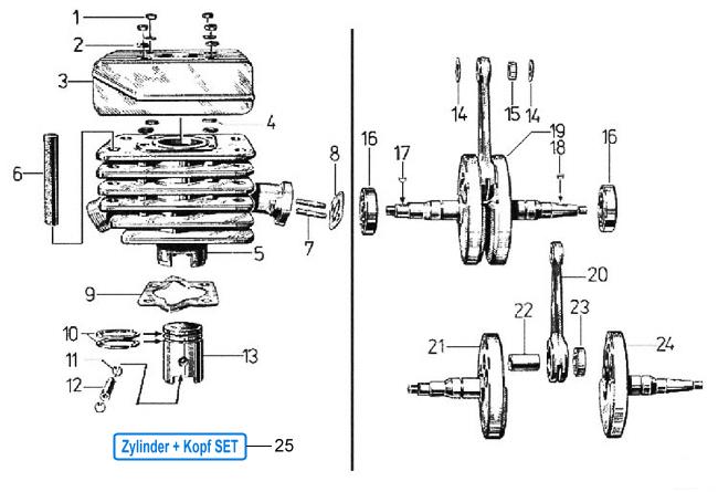 Fensterheber Seilzug Rolle NEU vorne Original 2885844 Opel Rekord C Limo 4-trg