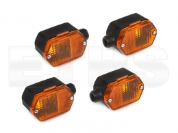4x Blinker Orange (Eckig) Simson & ETZ