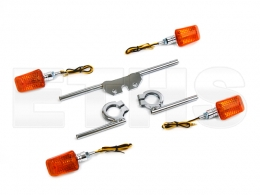 Blinker Set (Mini) Halter Chrom S50 S51 S70