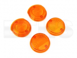 Blinkerkappen Orange (Rund) S50 S51 S70 SR50 SR80