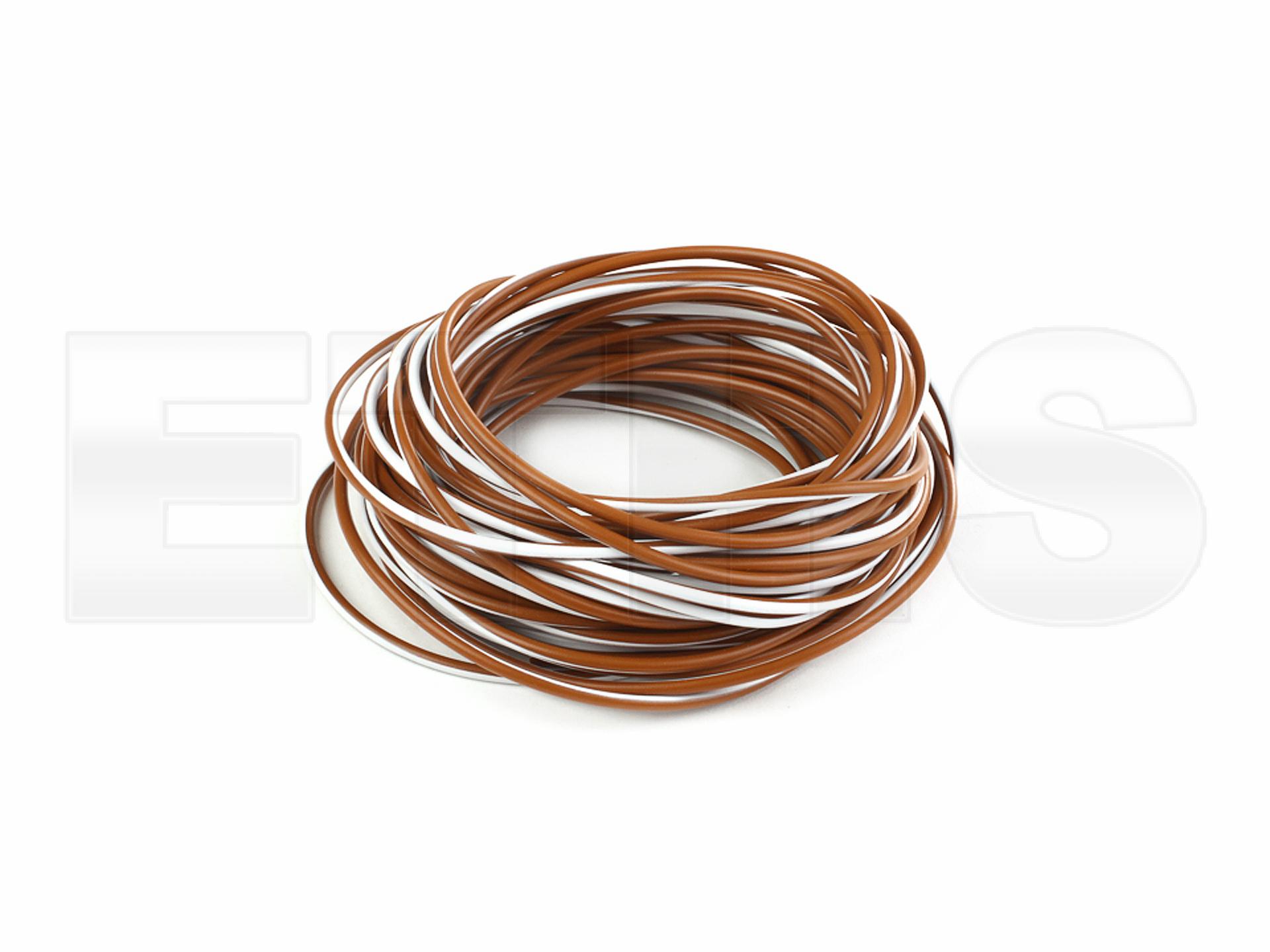 kabel flry b braun wei 1 00mm 1 meter mz und simson ersatzteile shop. Black Bedroom Furniture Sets. Home Design Ideas