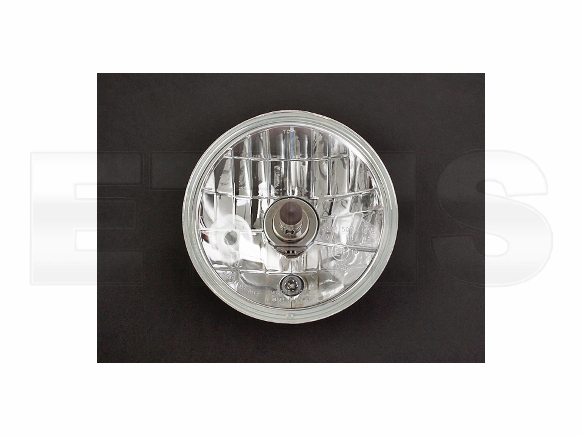 scheinwerfereinsatz kpl klarglas h4 simson s51 kr51 sr4. Black Bedroom Furniture Sets. Home Design Ideas