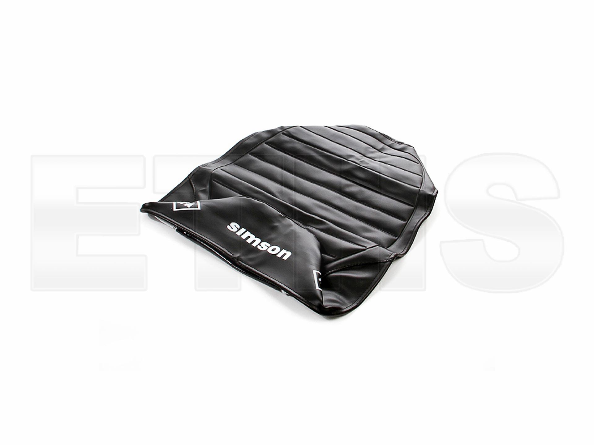 Sitzbezug SIMSON schwarz strukturiert S51 Enduro