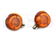2 Blinker Vorn Orange (Rund) 8580.23 Simson TS ETZ