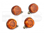 4x Blinker Orange (Rund) Simson & TS ETZ